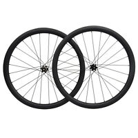 Disc brake Full Carbon Wheelset Clincher Road Bicycle Wheels 700C 40mm rim 11s