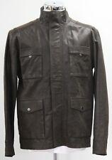 Men's Brown leather jacket (M).. sample 2804