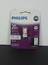 Phillips Electric LED G8 Base  2W 20 Watt Replacement Bulb NIP
