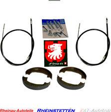 JP Bremsbackensatz+Bremsseile L+R BMW 3 E46 316 318 320 323 325 330i xi d xd