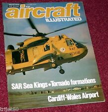 Aircraft Illustrated 1979 March RAF Sea King SAR,Cardiff Wales Airport