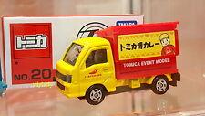 TOMICA X PLARAIL Subaru Sambar Curry Shop Truck Event Model No.20 HK Toy Show