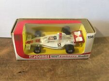 Corgi 156 Graham Hill Embassy Shadow, Excellent Condition in Original Box