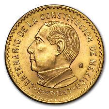 1957 Mexico Constitution Centennial Gold Medal