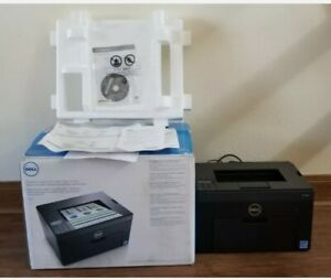 DELL C1760NW Wireless Color Laser Printer- LOW PAGE COUNT 439!!