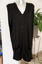 adorable vestido suéter negro algodón y cachemira MAJE talla M /40