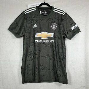 Adidas 2020-21 Manchester United Away Fan Soccer Mens Jersey EE2378 Sz XS NWT