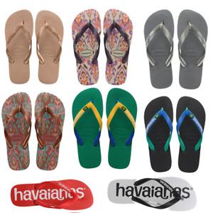 Womens Havaianas Ladies Flip Flops Summer Colours Ladies Summer Sandals