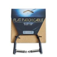 """RockBoard by Warwick Flat Guitar Effects Pedal Angled Patch Cable 10 cm 3.93"""""""