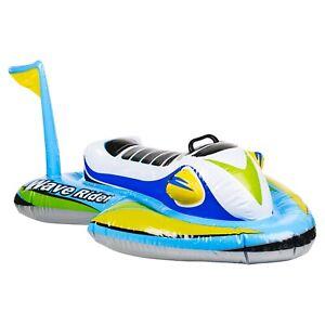Inflatable Intex Swimming Pool Beach Water Raft Jet Ski Wave Rider Float Toy 3+