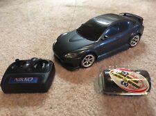 Nikko Mazda RX-8 RX8 Radio Remote Control R/C RC Race Drift Car Extra Tires