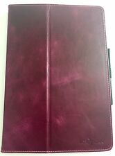 IPAD PRO 10.5 MAGNETIC TABLET FOLIO CASE IN DEEPEST PLUM FAUX? LEATHER