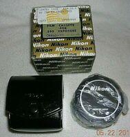 Nikon Film Cassette for 250 Exposure VINTAGE - MINT IN BOX