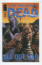 """The Walking Dead #115 - """"All Out War Chapter 1 of 12"""" - 2nd Print - (Grade 9.2)"""