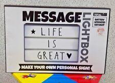 Lavagna luminosa a Led con lettere per creare messaggi
