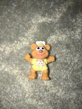 "Vintage Disney Muppet Babies The Muppets Fozzie Bear 1986 Pvc 2"" Figure"