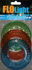 Flo Light Above Ground Inground LED Swimming Pool Light  Lens Kit 3 colors