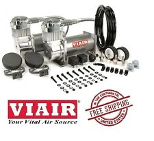 VIAIR 200PSI 2.54CFM 380C Dual Performance Value Pack 38002 Pewter