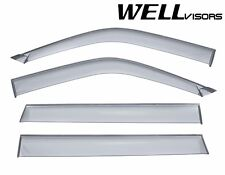 WellVisors Clip On Smoked Side Window Visors For 00-04 Mitsubishi Montero Sport