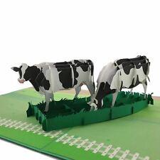 Cows 3D pop up card