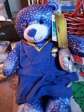"Build-A-Bear 16"" Polar Express Bear, Robe, Bell - Christmas New"
