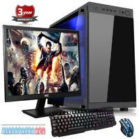 AMD A8 9600 QUADCORE GAMING PC COMPUTER BUNDLE WIFI 8GB 1TB 21.5''SCREEN dp46