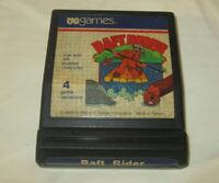 Raft Rider Atari 2600 1982 Video Game Cartridge US Games Vintage Arcade Tested