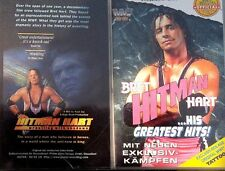 WWF 2-pack Bret Hart Greatest Hits & Wrestling with Shadows ORIG 2 VHS-Set WWE
