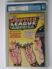 Justice League of America #10 CGC Old label 5.0