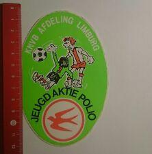 Aufkleber/Sticker: KNVB afd Limburg Jeugdaktie Polio (261216108)