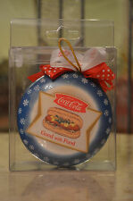 Coca-Cola Good with Food Ornament with hot dog!