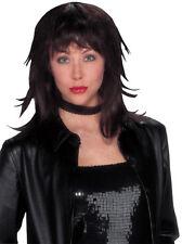 Lioness Black/Red Choppy Gothic DLX Adult Costume Wig
