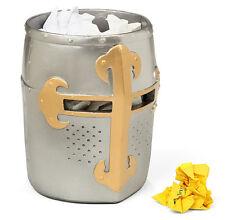 Medieval Crusaders Great Helm Trash Bin **Brand New**