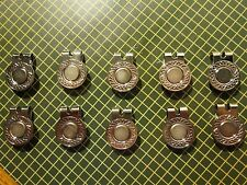 Magnetic Ball Marker Hat Clips(10 Hat Clips!!)+10 Ball Markers Quick Ship!/ USA!