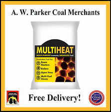 Multiheat Smokeless fuel coal 300kg pre packed 15 x 20kg bags ton