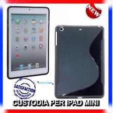 Pellicola+Custodia cover case WAVE NERA per IPAD Mini & 2 & 3