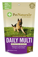 Pet Naturals of Vermont - Daily Multi for Dogs, Multivitamin Formula, 30 Chews