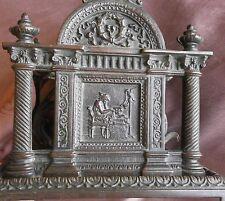 """Range courrier Napoléon III bronze """" Temples Muses Musique & Dessin - Méduse """""""