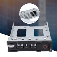"For DELL C1100 C2100 CS24/FS12-TY Server 3.5"" SAS SATA SSD Hard Drive Caddy Tray"