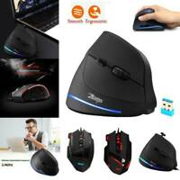 Universal ZELOTES Wired/Wireless Optical Gaming Mouse Mice for Laptop Desktop PC