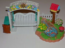 Fisher Price Loving Family Garden Koi Pond Swing Lights and Sounds