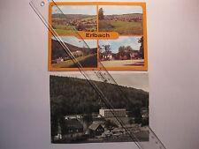 2x Erlbach (Kr.Klingenthal) Erholungsort III/26/13 A1/504/84  u.a.Landesgemeinde
