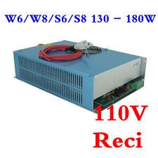 OEM Reci W6/W8 / S6/S8 130-180W CO2 Laser Tube Power Supply / Power Source, 110V