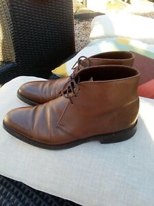Men's Brown LOAKES 1880 Pimilico  Leather Ankle Boots UK 8.5