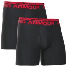 Ropa interior boxeres negra Under armour para hombre