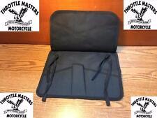 All Black 8 Pocket Canvas Tool Roll / Holder for Harley Riders, Biker, Mechanic