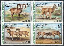 Afghanistan 1998 Animals WWF MNH Set #E3661