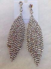 Unbranded Crystal Alloy Chandelier Costume Earrings