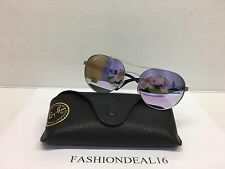 Rayban Authentic Light Weight Matte Mirrored RB3536 019/4V Sunglasses