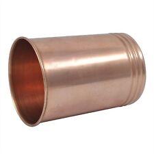Indian 100% Copper 300 Ml Tumbler Natural Ayurveda Health Handmade Water Glass
